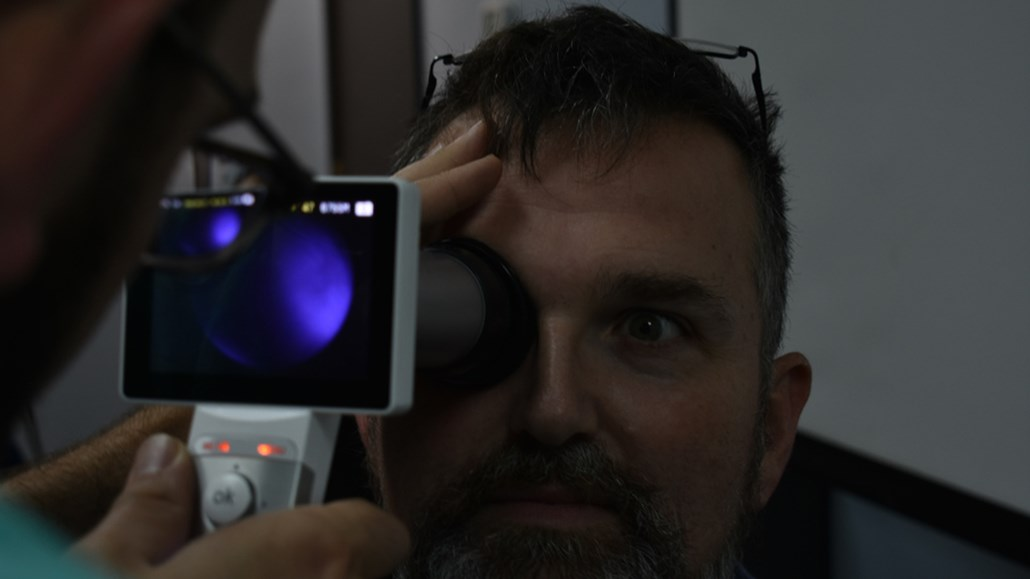 OI employee Cataract Diagnosis